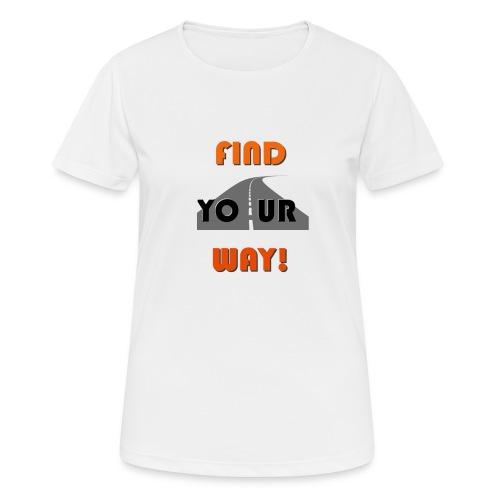 FIND - Camiseta mujer transpirable