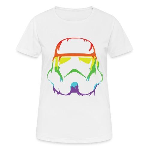 Pride Trooper - simple - naisten tekninen t-paita