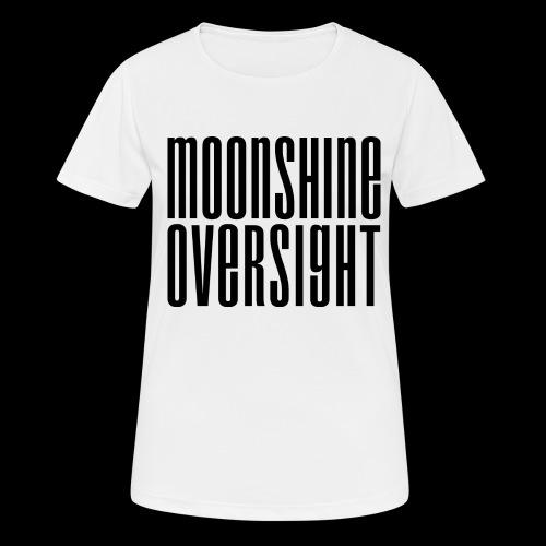 Moonshine Oversight noir - T-shirt respirant Femme
