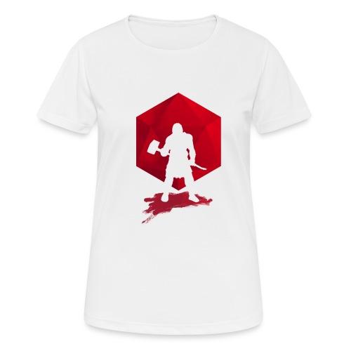 Brutal Barbarian - Dungeons and Dragons dnd d20 - naisten tekninen t-paita