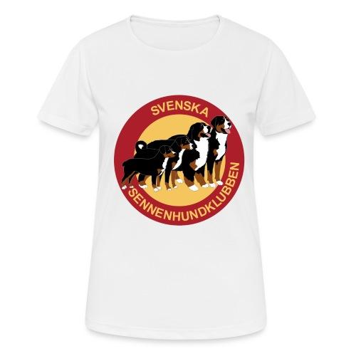 Sennenhundklubben - Andningsaktiv T-shirt dam