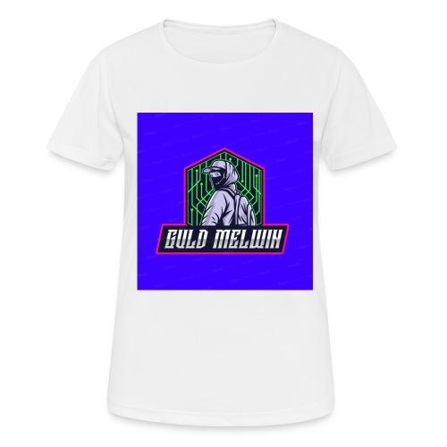 Guld Melwin - Andningsaktiv T-shirt dam