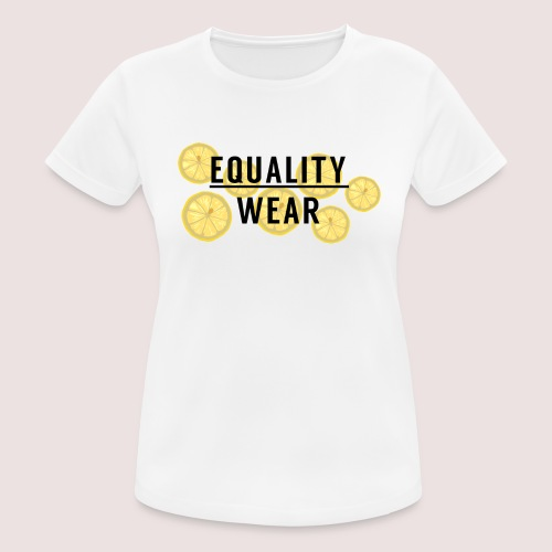 Equality Wear Fresh Lemon Edition - Women's Breathable T-Shirt