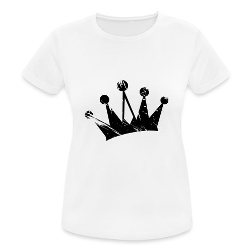 Faded crown - Women's Breathable T-Shirt