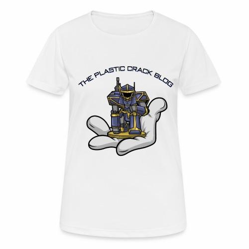 Plastic Crack Blog - Women's Breathable T-Shirt