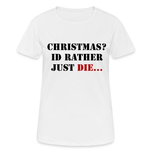 Christmas joy - Women's Breathable T-Shirt