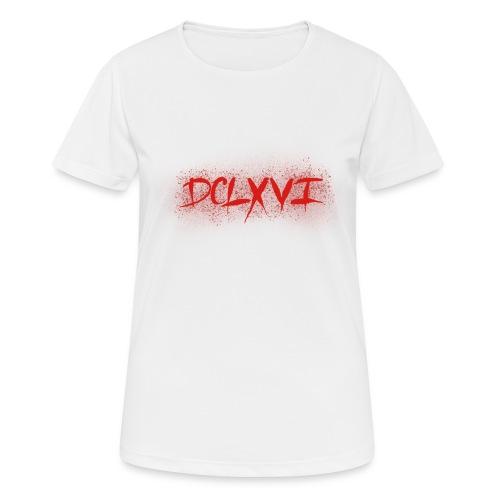 666 Roman Numerals - Women's Breathable T-Shirt