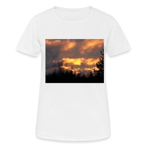 Iltarusko - naisten tekninen t-paita