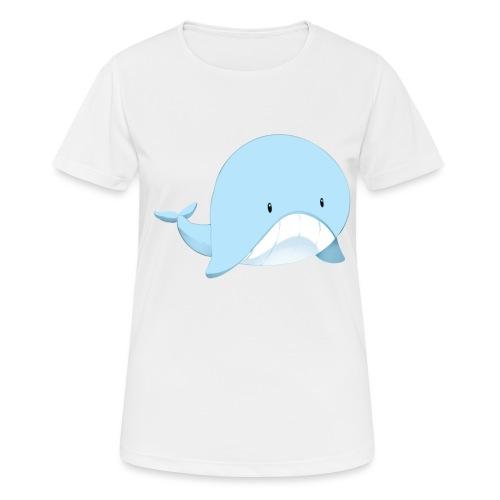 Whale - Maglietta da donna traspirante
