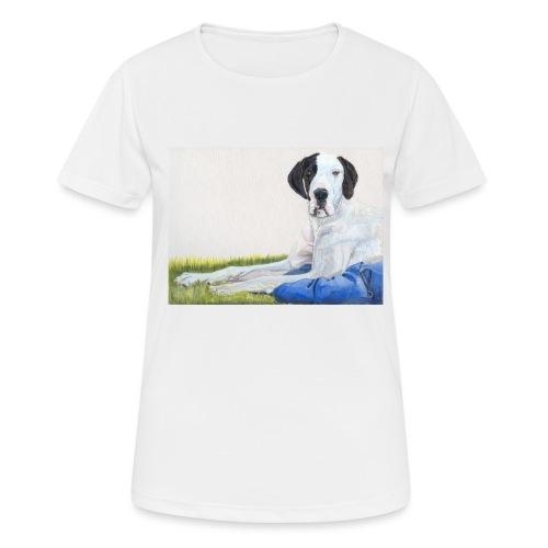 Grand danios harlequin - Dame T-shirt svedtransporterende