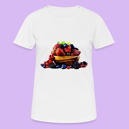 frutti di bosco - Maglietta da donna traspirante