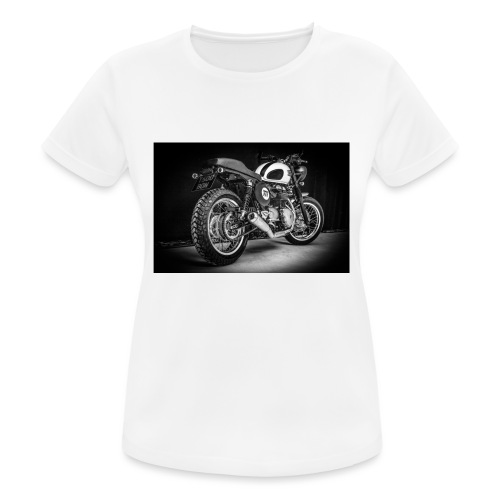 Monia's Thruxton 'Performance Scrambler' - Women's Breathable T-Shirt