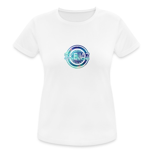 Official SKEJAZ Band Logo - Women's Breathable T-Shirt