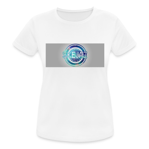 LOGO WITH BACKGROUND - Women's Breathable T-Shirt