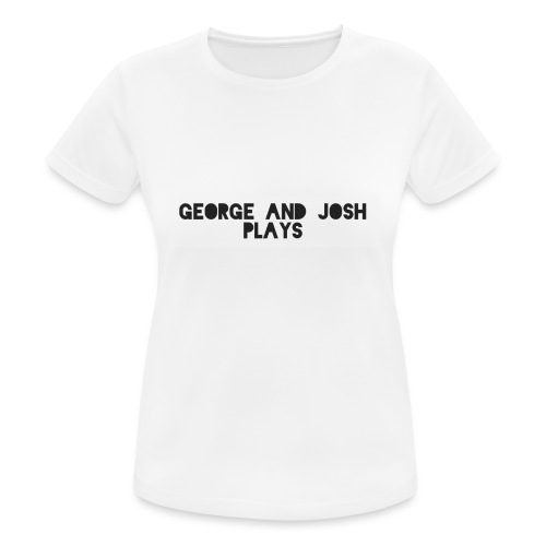 George-and-Josh-Plays-Merch - Women's Breathable T-Shirt