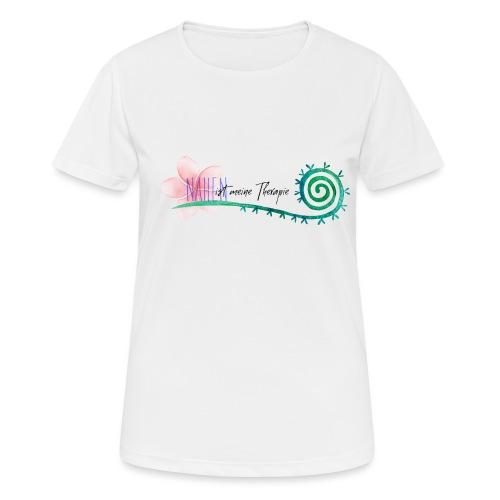 Nähen ist meine Therapie - Frauen T-Shirt atmungsaktiv