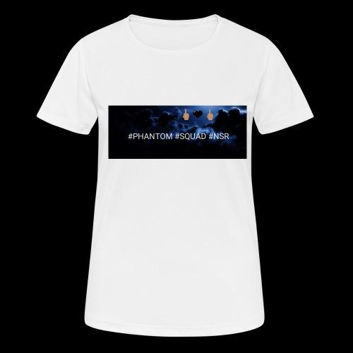 #PHANTOM #SQUAD #NSR Shirt - Frauen T-Shirt atmungsaktiv