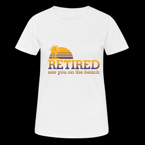 Retraite - T-shirt respirant Femme