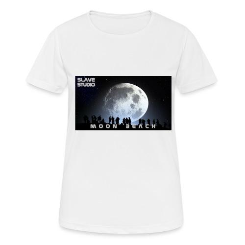 Moon beach - Maglietta da donna traspirante