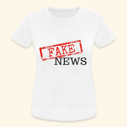 fake news - Women's Breathable T-Shirt