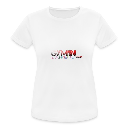 gym'in project - T-shirt respirant Femme