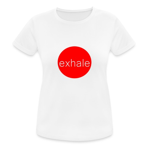 exhale - Women's Breathable T-Shirt