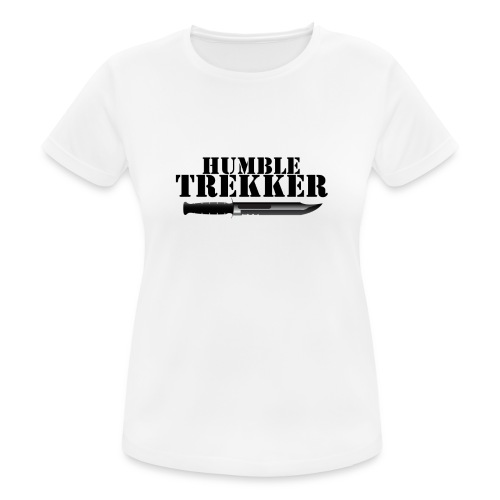 Humble Trekker KaBar - Andningsaktiv T-shirt dam