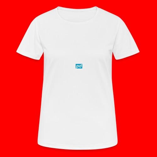 pd Blue - Dame T-shirt svedtransporterende
