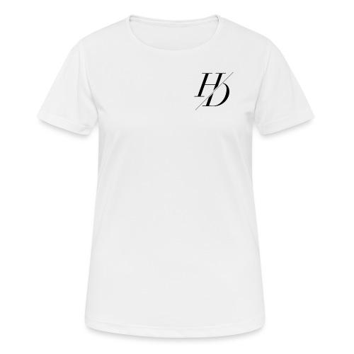 H&D Logo - Frauen T-Shirt atmungsaktiv