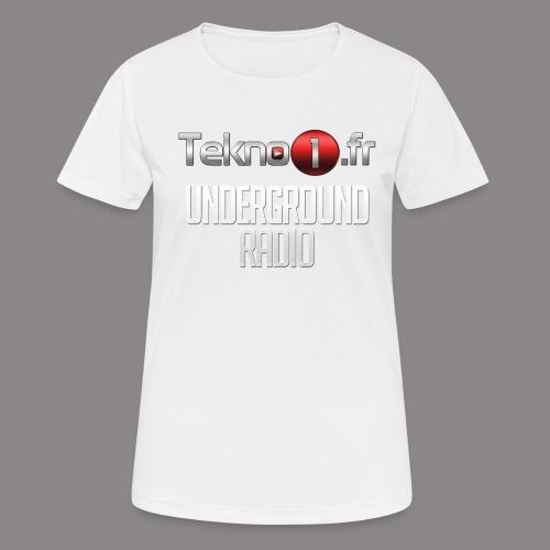logo tekno1 2000x2000 - T-shirt respirant Femme