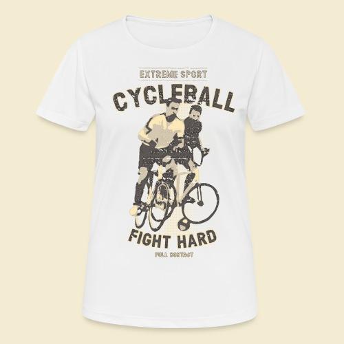 Radball | Fight Hard - Frauen T-Shirt atmungsaktiv
