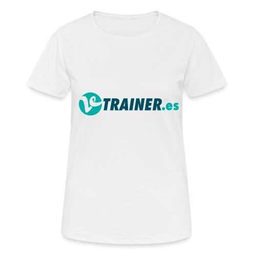 VTRAINER.es - Camiseta mujer transpirable
