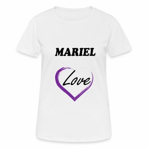 Mariel Love - Camiseta mujer transpirable
