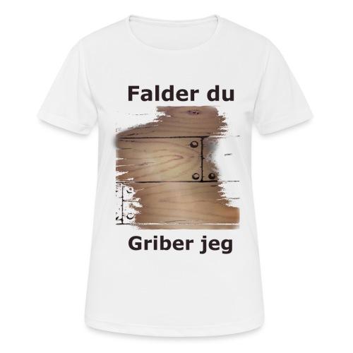 Gulvet Griber - Dame T-shirt svedtransporterende