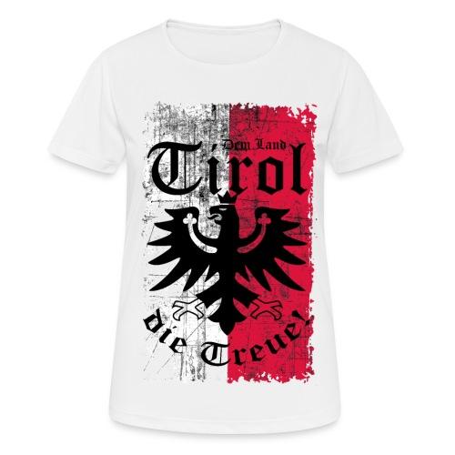 Tirol - Frauen T-Shirt atmungsaktiv