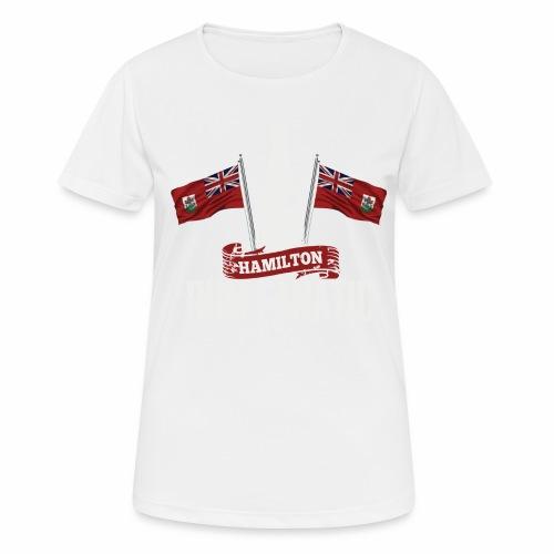 T-shirt Rum Fanatic - Hamilton, Bermuda - Koszulka damska oddychająca