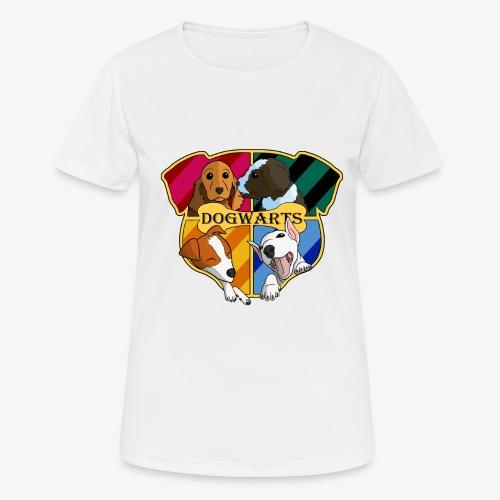 Dogwarts Logo - Women's Breathable T-Shirt