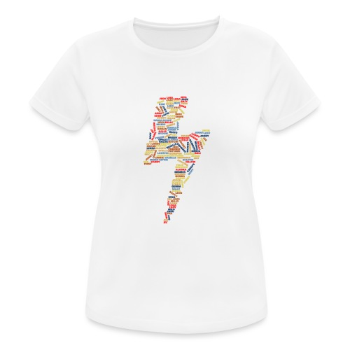 eclair fslc - T-shirt respirant Femme