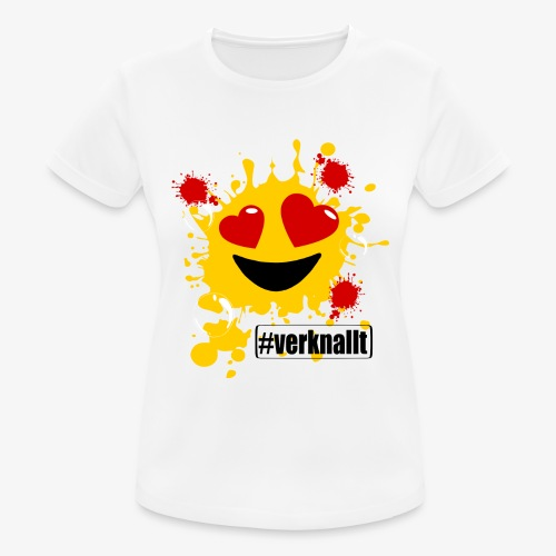 verknallt - Frauen T-Shirt atmungsaktiv