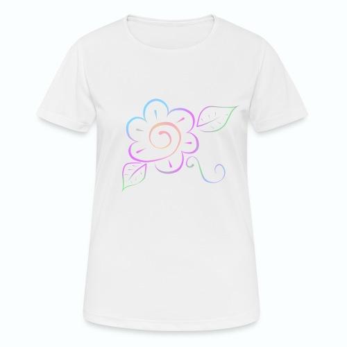 Tonalidades de en flor - Camiseta mujer transpirable