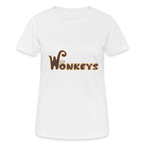 The Wonkeys - Maglietta da donna traspirante