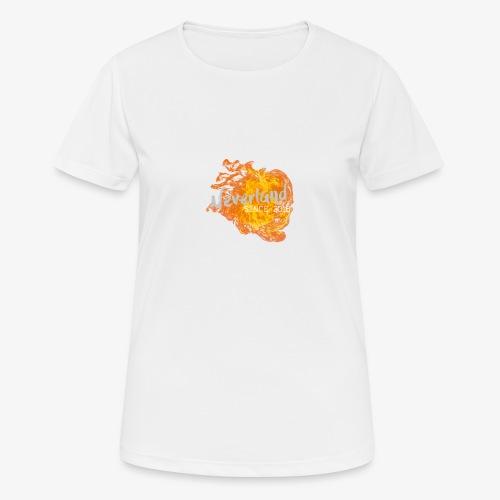 NeverLand Fire - vrouwen T-shirt ademend