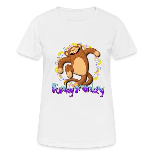 Funky Monkey - Maglietta da donna traspirante