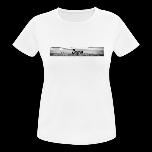 Volimo Beograd - Frauen T-Shirt atmungsaktiv