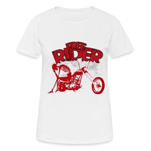 FREE RIDER - Camiseta mujer transpirable