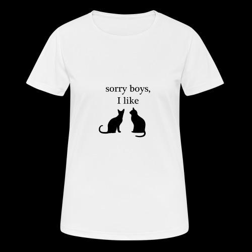 sorry boys - Koszulka damska oddychająca