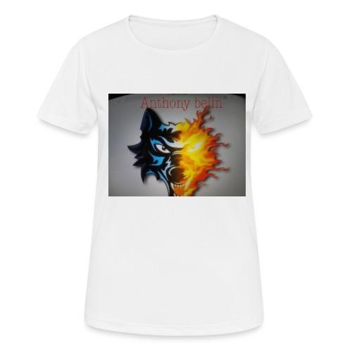 E44A4C12 938F 44EE 9F52 2551729D828D - T-shirt respirant Femme
