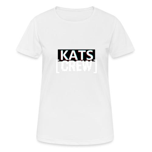 KATS CREW Logo - Koszulka damska oddychająca