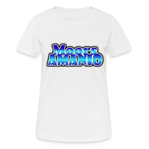 MoorsAmanioLogo - Vrouwen T-shirt ademend actief