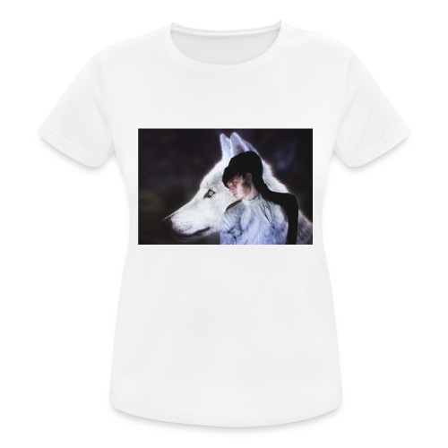 Wolfy - Women's Breathable T-Shirt